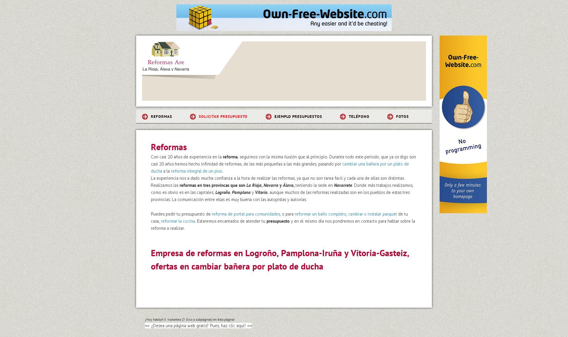 Empresa de reformas en Logroño | www.funcionando.com