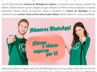 mujeres para chatear por whatsapp